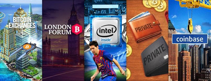 Roundup: London Bitcoin Forum, Intel & Coinbase
