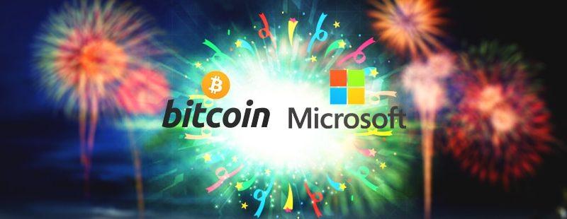 Microsoft and Bitcoin