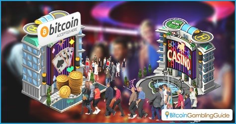 Bitcoin In Offline Gambling