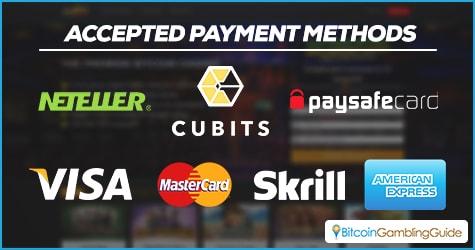 mBit Casino Payment Methods