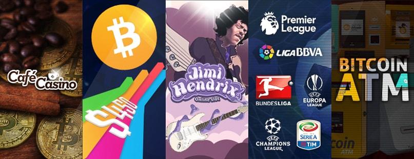 Roundup: Café Casino & Jimi Hendrix Slot
