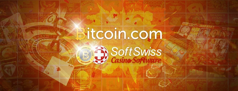 Bitcoin.com & SoftSwiss Launch New Online Casino