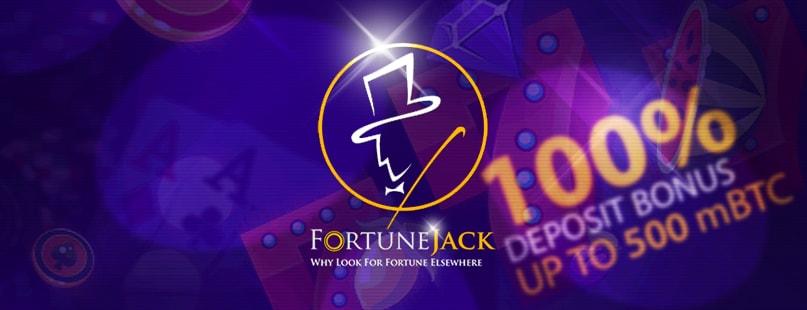 FortuneJack Unveils New Deposit Bonus Deals