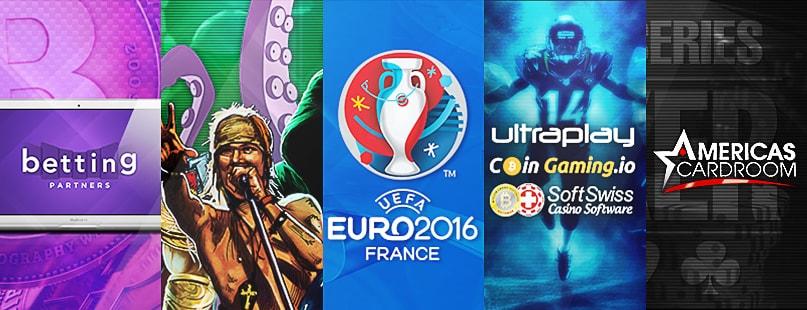 Roundup: Betting Partners, Euro 2016 & WSOP 2016
