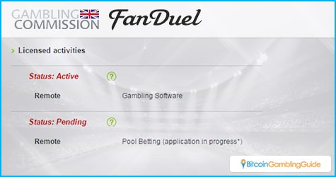 FanDuel UK License