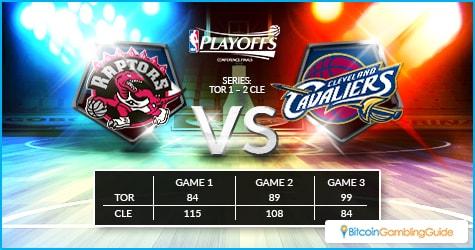 Toronto Raptors vs Cleveland Cavaliers