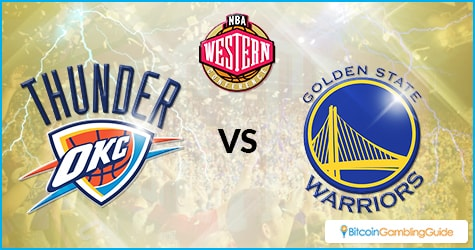 Oklahoma City Thunders vs Golden State Warriors