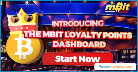 mBit Casino VIP Program