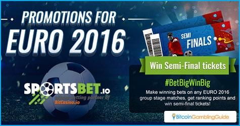SportsBet.io Euro 2016 Promo