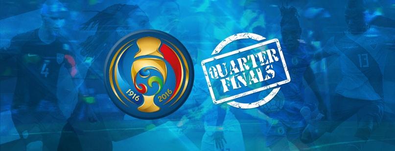 Copa America Centenario Starts Quarterfinals