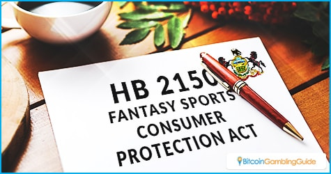 HB 2150 Fantasy Sports Consumer Protection Act