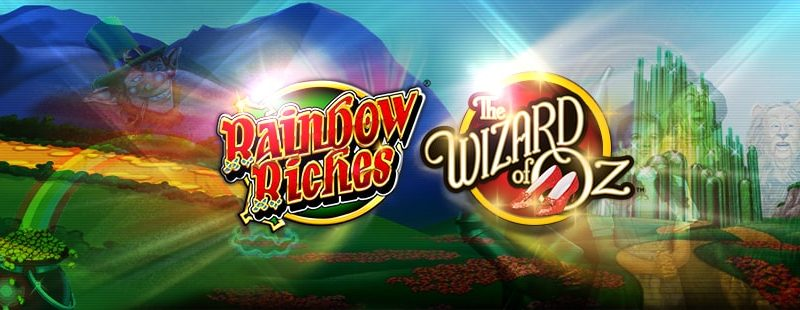 Wizard of Oz Slot and Rainbow Riches Slot