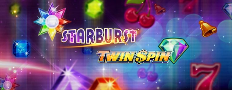 Twin Spin Slot and Starburst Slot