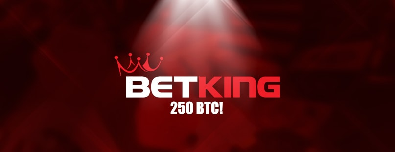 BetKing.io Pays Out 250 BTC To Lucky High Roller