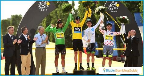 Tour de France Jersey Wearers