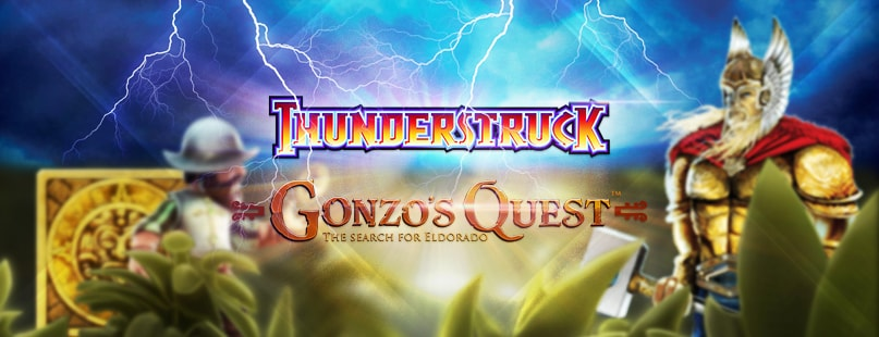Game Comparison: Gonzo's Quest & Thunderstruck