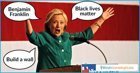Hillary Clinton Speech Prop Bets