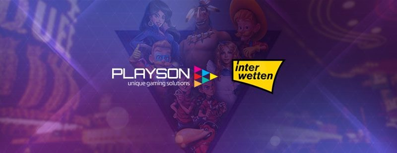 Playson on Interwetten Casino