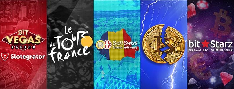 Roundup: Slotegrator, Tour de France & BitStarz
