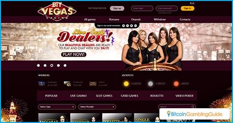 BitVegas Bitcoin Casino