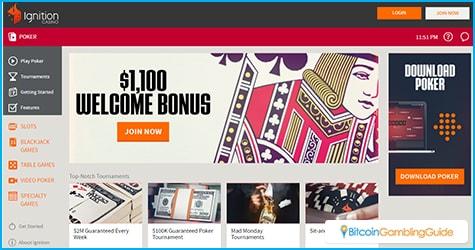 Ignition Casino adds poker