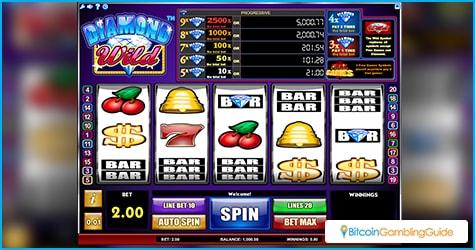 Diamond Wild slot now available on BitStarz