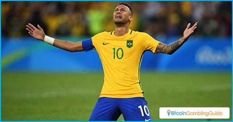 Neymar scores winning penalty shot