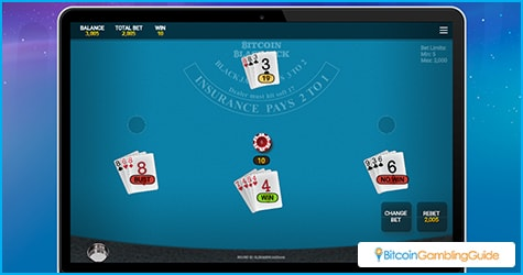 OneTouch Blackjack Game can be played on mobile and desktop