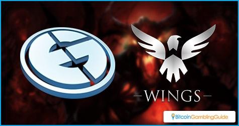 Wings gaming and Evil Geniuses lead in the upper bracket
