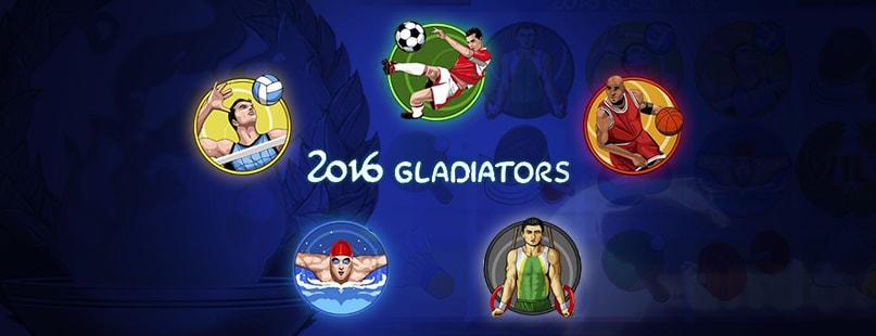 Endorphina Salutes Olympics With 2016 Gladiators