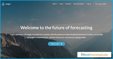 Augur features a decentralized prediction market platform