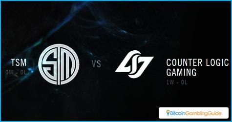 LCS NA Semifinals: TSM vs. Counterlogic Gaming