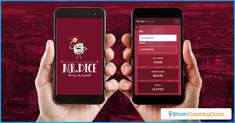 MrDice.io Mobile