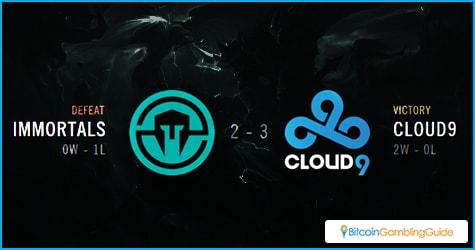 Cloud9 beats The Immortals in NA LCS Semifinals