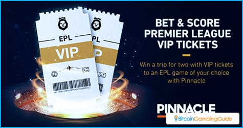Win two Pinnacle VIP Tickets to watch EPL