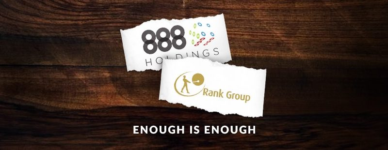 Rank & 888 Move On Without William Hill