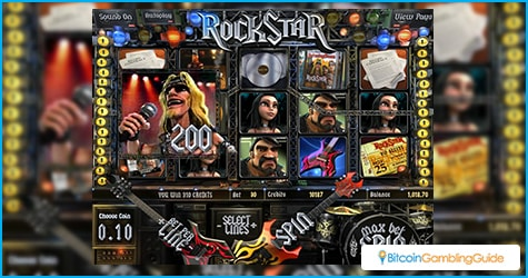 Rock Star slot from Betsoft