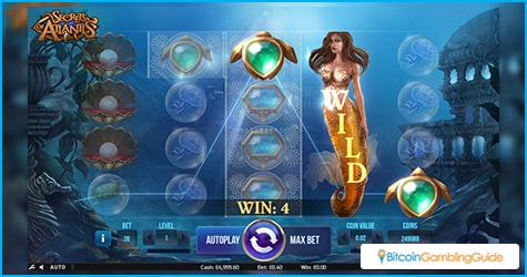 Secrets of Atlantis slot game