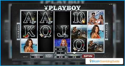 Playboy slot available in Bitcoin casinos