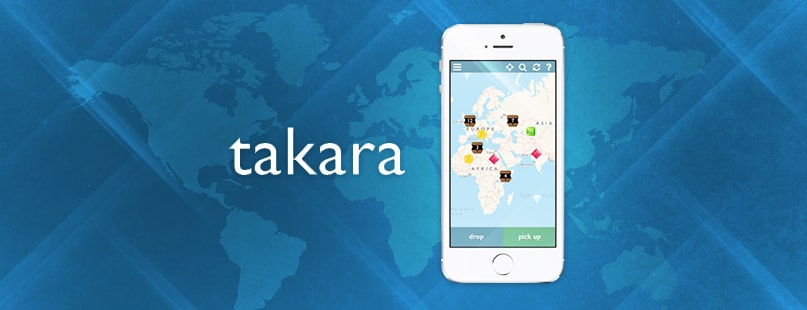 Takara Lets Users Pick Up Digital Tokens Anywhere