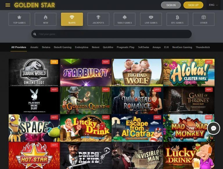 Golden Star Casino Bitcoin