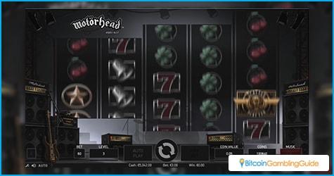 Motorhead Bitcoin Online Slot