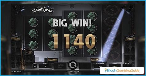 Motorhead Slot Big Win