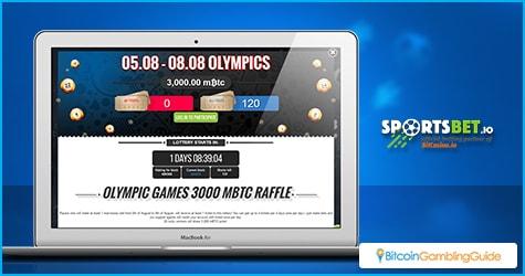 SportsBet.io Olympic Promo