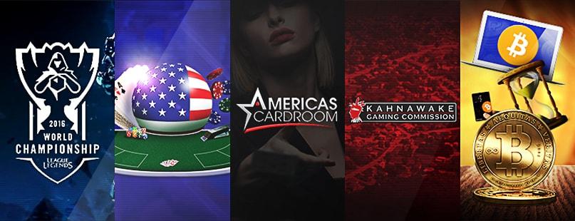 Roundup: Americas Cardroom, Ezugi & NYX Gaming