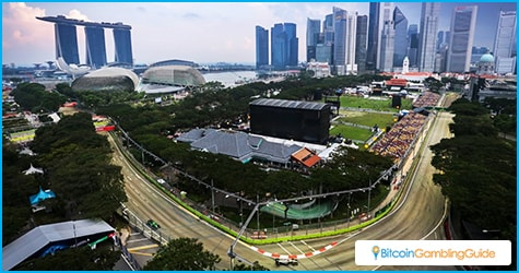 Marina Bay Formula One 2016