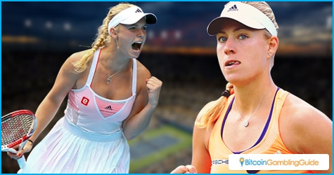 Angelique Kerber and Caroline Wozniacki