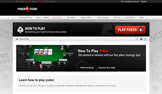 how to get play money on pokerstars