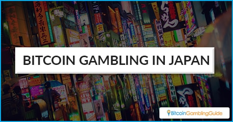 Bitcoin gambling in Japan