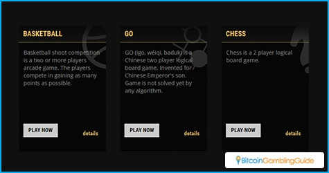 CGBets Games